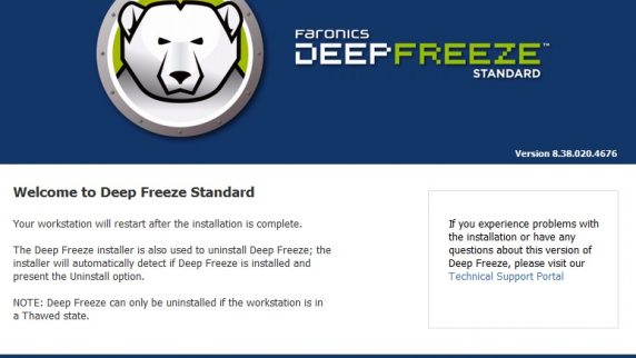 Deep Freeze Standard